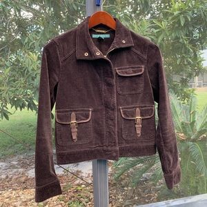 Ralph Lauren Corduroy Cropped Jacket